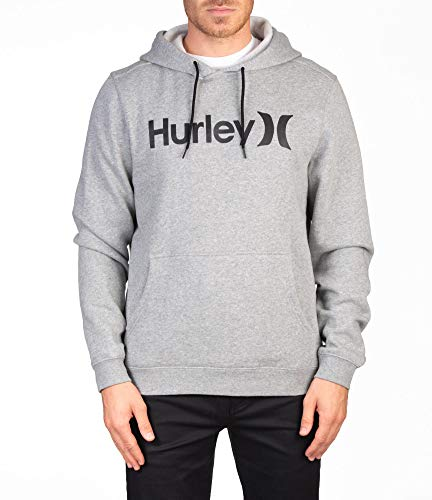 Hurley M One&Only Pullover Sudadera, Hombre, dk Grey Heather