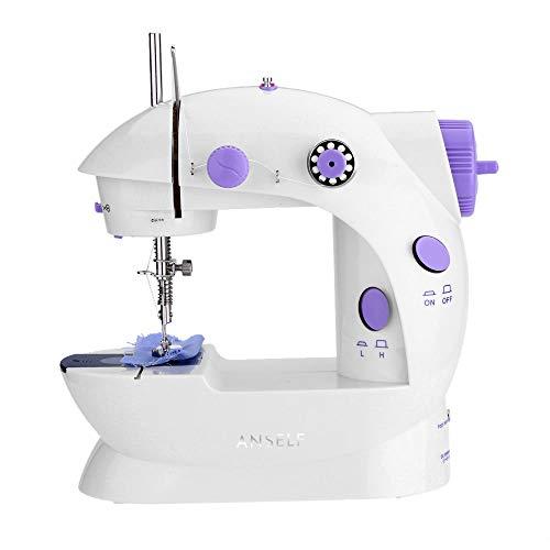 Mini máquinas de coser portátiles de mano Telas de ropa multifuncionales para...