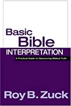 Best basic bible interpretation roy b zuck Reviews
