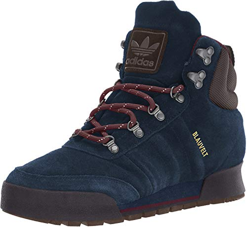 adidas Originals Men's Jake Boot 2.0 Hiking Shoe, Collegiate Navy/Maroon/Brown, 12 M US
