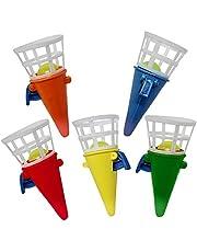 THE TWIDDLERS 48 Mini Click & Catch Cones Game | Ideale per Pinata Stuffers | Fillers Calza di Natale | Borsa bottino per Feste di Compleanno e di Natale Giochi di Giocattoli Bambini Halloween Festa