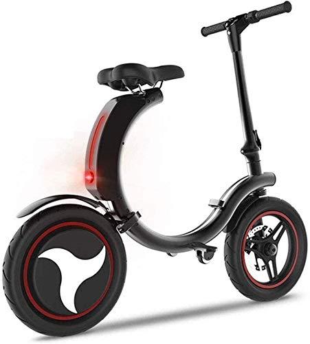 Bicicletas Eléctricas, Bicicletas eléctricas rápidas for adultos Pequeño plegable eléctrico Batería de Litio for bicicletas.Adulto de dos ruedas de la bicicleta.La 18km la velocidad máxima es / Neumát