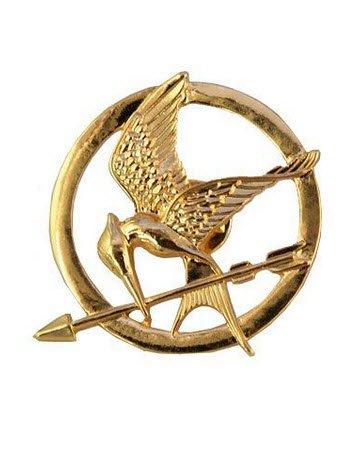 Spotttölpel Brosche Bronze Mockingjay Pin Hunger Games Die Tribute von Panem