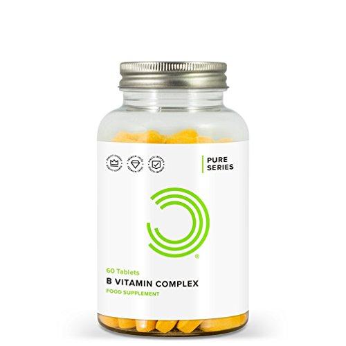 BULK POWDERS Vitamin B Komplex Tabletten, 60 Tabletten
