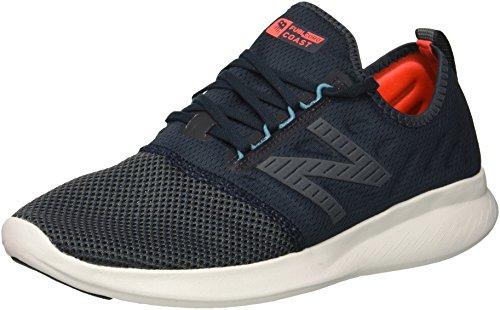 New Balance Herren Fuel Core Coast v4 Sneaker, Blau (Galaxy/Petrol/Cadet Lf4), 43 EU