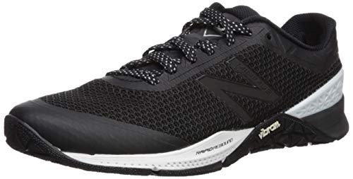 New Balance Minimus 40, Zapatillas Deportivas para Interior para Hombre, Negro (Black/White/Metallic Silver Rb1), 42 EU