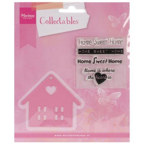 Marianne Design Fustella Collectables Dolce Casa, Metal, Pink, 7x6.2x0.4 cm
