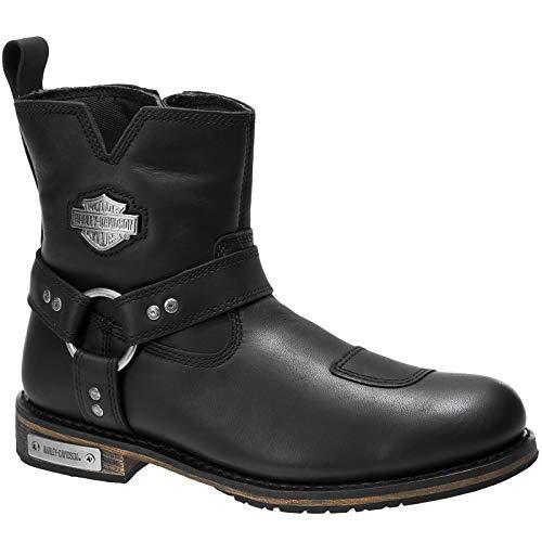 Harley Davidson Herren Conklin Leder Black Stiefel 42 EU