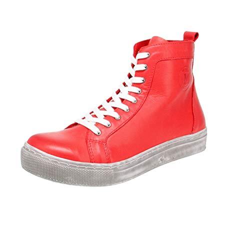 Maca Kitzbühel 2818 - Damen Schuhe Freizeitschuhe - red, Größe:40 EU