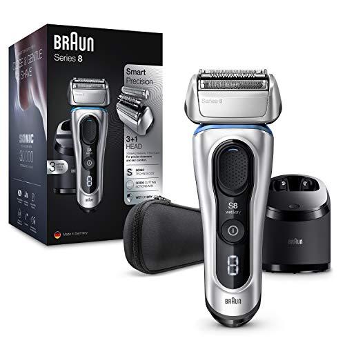 Braun Series 8 8370 cc Afeitadora Eléctrica Hombre Nueva Generación, Para Barba,...