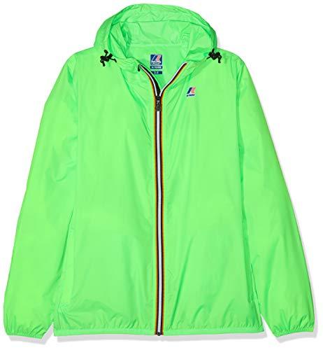 K-Way Claude Cappotto, Verde (Green Fluo Z18), 104 (Taglia Produttore:4 Anni) Bambino