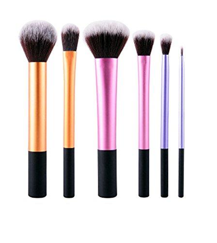 VWH 6 tlg. Makeup Bürsten Pinsel Schminkpinsel Kosmetikpinsel Set