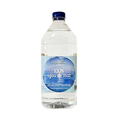 Holoslife Acqua di mare - 6 contenitori da 2000 ml - Totale: 12000 ml