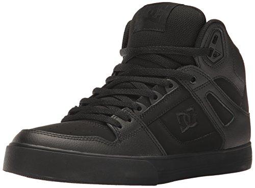 DC Shoes Herren Dc Spartan High Wc, Skateschuhe, Schwarz/Schwarz/Schwarz, 37.5 EU