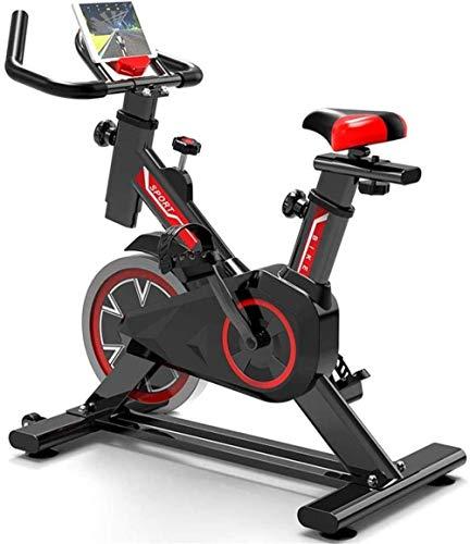 YLJYJ Spinning Bike Hogar Ejercicio interior Fitness Bike Gimnasio Equipo Mute Vertical Bicicleta Deportiva Adecuado para la Oficina al aire libre Familia Interior Estudio Ciclos