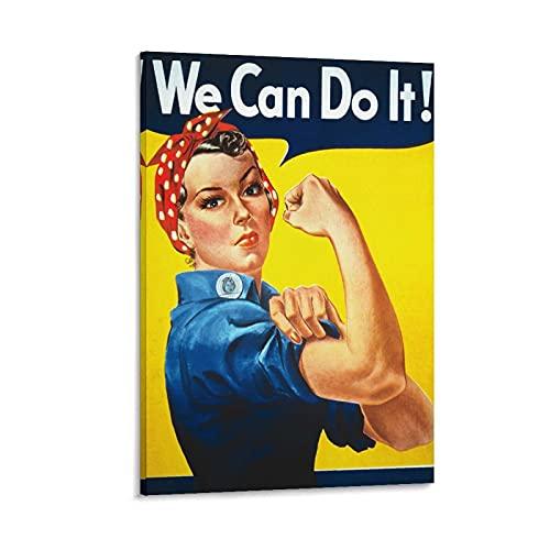 Lámina We Can Do It  marca
