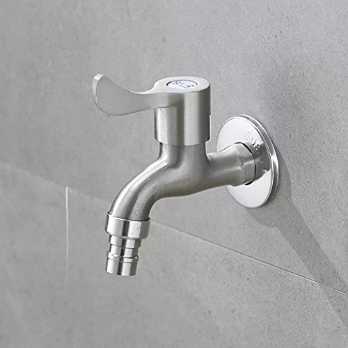 Lavadora de montaje en pared G1 / 2' acero de aleación de zinc lavadero grifo de baño grifo de jardín grifo de lavadora grifo de agua para balcón