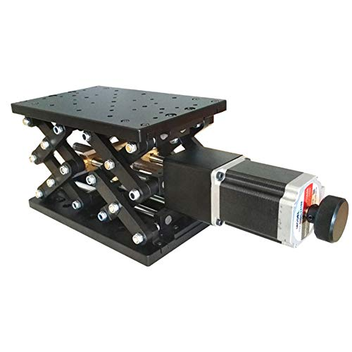 X-xyA Soporte De Laboratorio De Tijera, Motorizado Lab Jack, De 220 mm × 140 mm Eléctrico De Elevación De La Plataforma, Óptico Ascensor Ascensor Deslizante 100 mm De Viaje