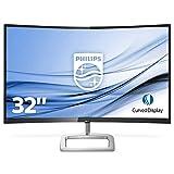 Philips 328E9FJAB/00 - Monitor 32' Ultra-Wide Curvo (QHD, 2560X1440 Pixels, Modo LowBlue, FreeSync, FlickerFree, 4ms, HDMI, Displayport)