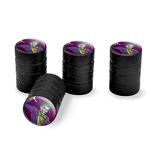 Graphics and More Batman Joker Character Tire Rim Wheel Aluminum Valve Stem Caps