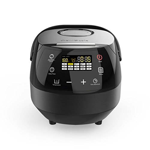 Drew&Cole CleverChef 14-in-1 Intelligent Digital Multi Cooker, Aluminium, 860 W, 5 Litre, Charcoal