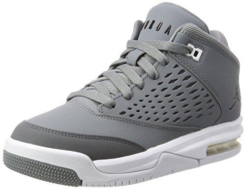 Nike Nike Damen Jordan Flight Origin 4 Bg Basketballschuhe, Grau (Cool Grey/Black/dk Grey/White), 36 EU