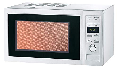 L2G Four Micro-Ondes 25 Litres Programmable, tout Inox, Fonction Grill