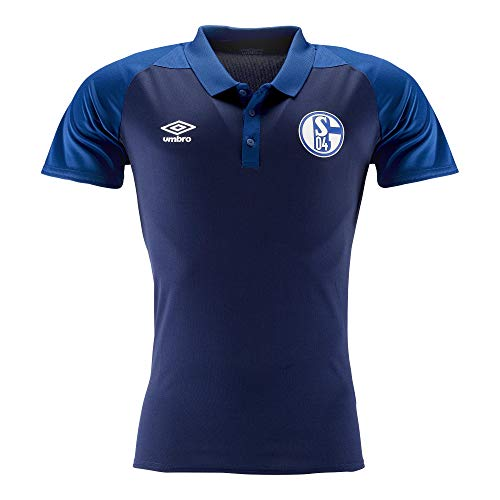 FC Schalke 04 Umbro Polo Shirt (M, Navy)