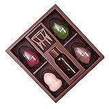 Caja de Regalo de Huevo de Esponja de Maquillaje Avanzada, Licuadora de Esponja de Maquillaje, Bocanada de Maquillaje Sin Látex, Esponja Mixta de Base de Belleza, Herramientas de Maquillaje Profesio