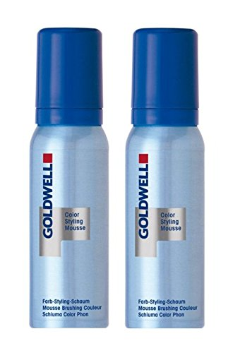 Goldwell Colorance Color Styling Mousse P perlgrau 2 x 75 ml Farb-Schaum