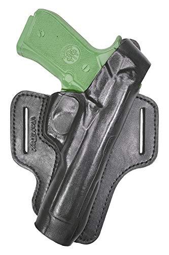 VlaMiTex B7 Funda de pistola para cinturón, de piel, para Beretta 92 92S 92SB 92F 92FS 92D 92DS 92X 96