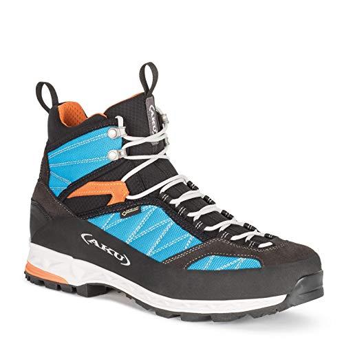 AKU Tengu Lite GTX Chaussures pour homme Noir/orange 2019 - Bleu - Orange turquoise., 39.5 EU