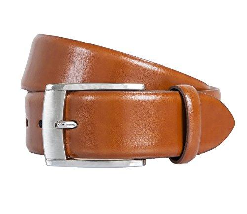 LLOYD Leder-Gürtel 2202/11 Braun, Länge:115 cm
