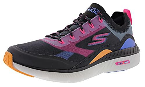 Skechers Women's Go Run Hyper Burst Outburst Running Shoes, Black/Multi, 7