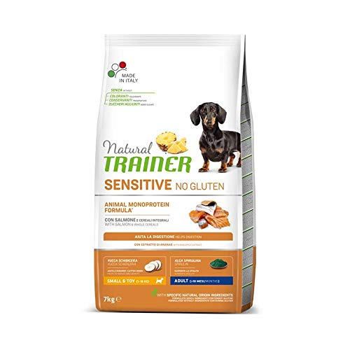 Trainer Natural Sensitive No Gluten Small & Toy Adult con salmón 7 kg
