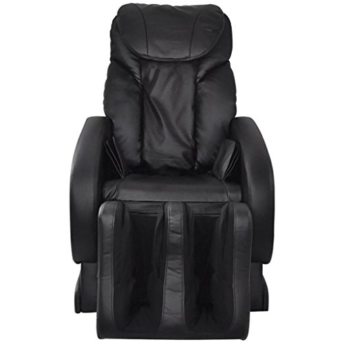 Tidyard Electric Power Lift Recliner Chair Sofa PU Leather Home Recliner for Elderly Classic Lounge Chair Living Room Chair with Safety Motion Reclining Mechanism (Black)