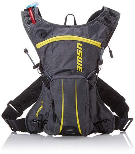 USWE Sports Airborne 3 - Mochila de hidratación con Bolsa (3 L), Color Gris