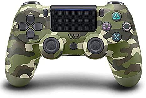Wireless Controller für Playstation 4, PS4 Controller Wireless mit Bluetooth, 1000 mAh Gamepad Remote Pro Controller für Windows PC und Android iOS System