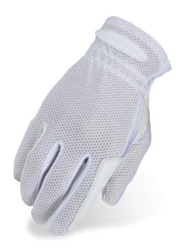 Heritage Pro-Flow Summer Show Gloves, Size 8, White