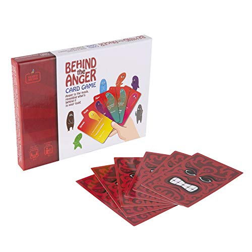 Behind The Anger Card Game for Families - Anger Management Card Game, Comprehensive Anger Control Solution to Develop Coping Skills - for Ages 6+, Teens, Adults