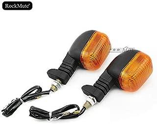 For BMW F 650 Funduro G 650 GS 1997-2010 Front or Rear Turn Signal Light Amber Blinking Indicator Bulb Blinker Lamp Motorcycle Powersport Street Sport Bike High Brightness