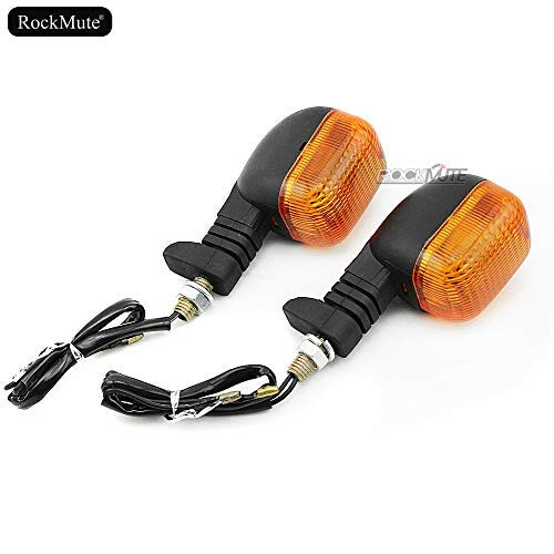 For BMW F 650 Funduro G 650 GS 1997-2010 Front or Rear Turn Signal Light Amber Blinking Indicator Bulb Blinker Lamp Motorcycle Powersport Street Sport Bike High Brightness