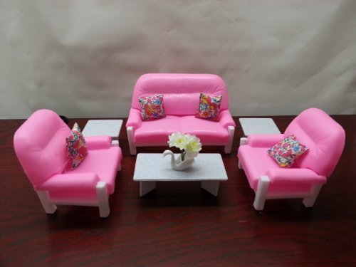 gloria Doll House Furnityre - Living Room Play Set