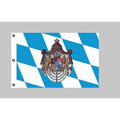 Riesen-Flagge: Bayern Königreich 150cm x 250cm