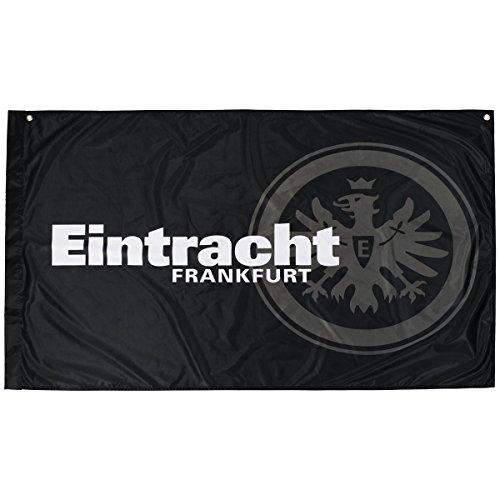 Eintracht Frankfurt Zimmerfahne 140x90cm (one Size, schwarz)