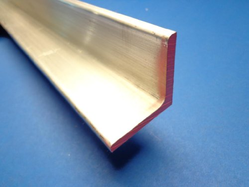 """Industrial Metal Sales - 6061 T6511 Extruded Aluminum Angle 2"""" x 2"""" x 12""""-Long x 1/4"""" Thick"""