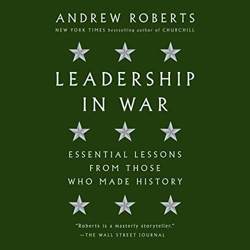 Leadership in War audiobook cover art