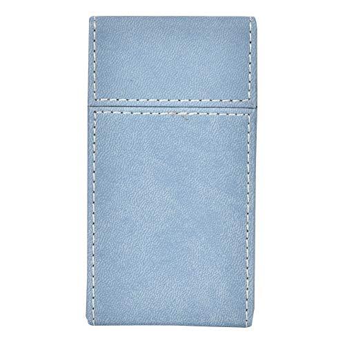 Alinory Caja de Cigarrillos de 20 Piezas, Caja de Cigarrillos, Caja de Almacenamiento de Cigarrillos, contenedor de Cigarrillos, Caja de Cigarrillos de sensación cómoda para(Light Blue)