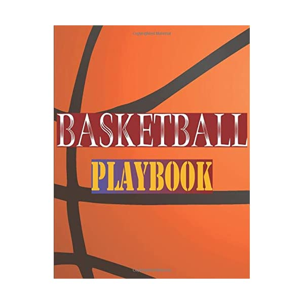 Basketball Playbook: 100 Page Coach Notebook with Field basketball Field Drawing + Notepad – Notebook journal – basketball Coach Gifts – Creating Drills, and Scouting