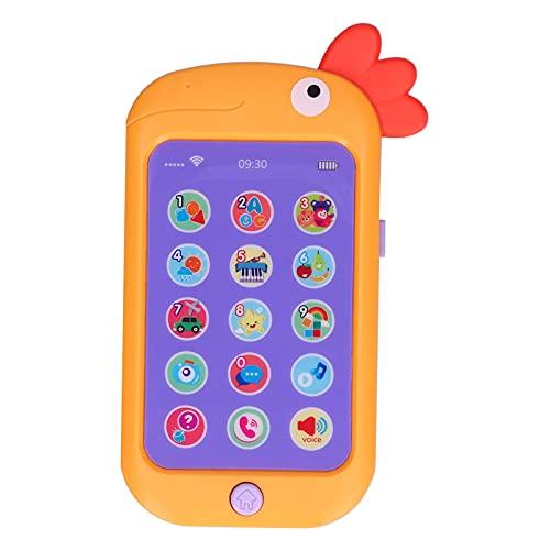 Máquina de teléfono para niños, música Juguete para teléfono móvil para niños Juguete para teléfono para bebé Teléfono móvil Juguetes vocales electrónicos educativos Juguete para teléfono para bebé Ju